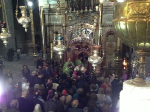 Holy-Sepulcher-Alexander-helped-sing-the-service-from-this-gallery-view-below