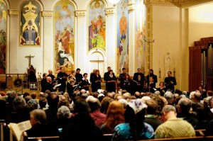 Wall Street Journal Reviews Cappella Romana Premiere of Maximilian Steinberg Passion Week