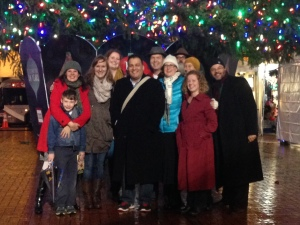 Cappella Romana Caroling at Pioneer Courthouse Square