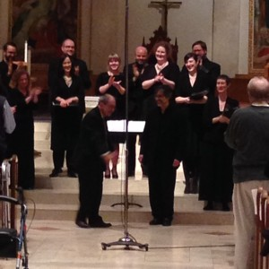 Cappella Romana with Dr. Tikey Zes at St Mary's Cathedral
