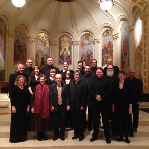 Cappella Romana with Dr. Tikey Zes and his lovely wife Teddi at St Mary's Cathedral