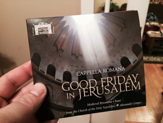 Good Friday In Jerusalem CD In Hand