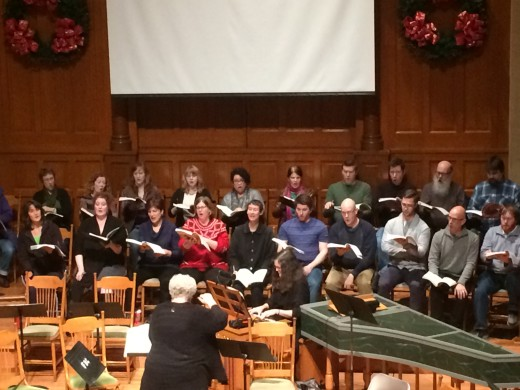 Messiah Rehearsal with Monica Huggett
